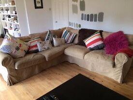 Corner sofa (IKEA Ektorp): Used