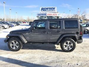 2016 Jeep Wrangler Unlimited 4WD 4dr Sahara BROWN LEATHER