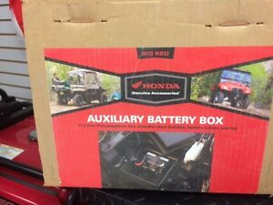 Honda Big Red Aux. Battery box