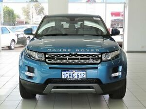 2014 Land Rover Evoque LV MY14 TD4 Prestige Blue 9 Speed Automatic Wagon Morley Bayswater Area Preview