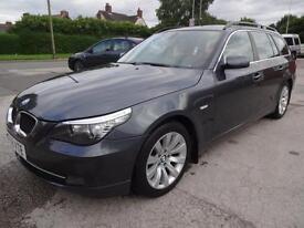BMW 520D SE TOURING~58/2008~6 SPEED MANUAL~5 DOOR ESTATE~HUGE SPEC~177 BHP !!!