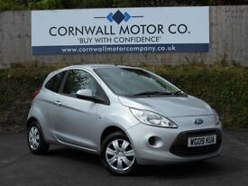 FORD KA 1.2 STYLE 3d 69 BHP ONLY £30 A YEAR ROAD TAX (silver) 2009