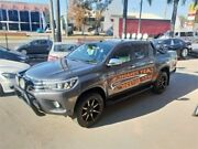 2015 Toyota Hilux GUN126R SR5 Grey Sports Automatic Utility Lansvale Liverpool Area Preview