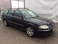2005 VOLKSWAGEN PASSAT 1.9 TDI PD 130 SPORT ESTATE - BLACK - EXCELLENT RUNNER - FULL VW HISTORY -