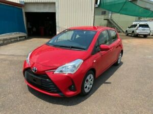 2017 Toyota Yaris NCP130R MY17 Ascent Red 4 Speed Automatic Hatchback Holtze Litchfield Area Preview