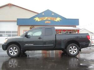 NISSAN TITAN SE 2008 4X4 * AUTOMATIQUE * KING CAB