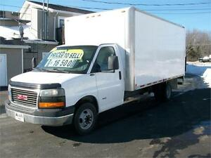 2008 GMC Savana 3500 Cube Van