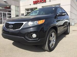 2013 Kia Sorento EX V6 with Sunroof. One owner. PST Paid.