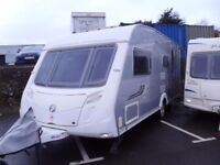 2008 Swift Conqueror 530 inc Awning 4 Berth Touring Caravan SILVER SIDES.