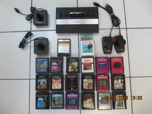 Classic 24pc Atari 2600 junior game system circa 1978-1983 XCond