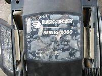 Black & Decker Mower, $10, series 2000, model 2250 for parts