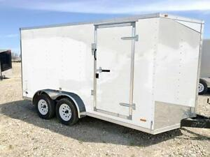 RC 7ft x 14ft Enclosed Trailer (rwt7x14ta2)