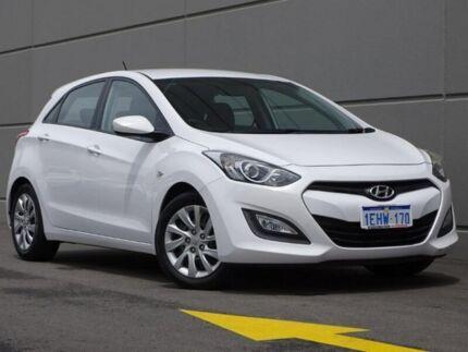 2013 Hyundai i30 GD Active White 6 Speed Sports Automatic Hatchback Maddington Gosnells Area Preview