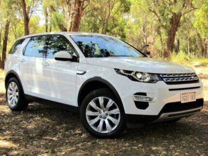 2016 Land Rover Discovery Sport L550 17MY TD4 180 HSE Luxury White 9 Speed Sports Automatic Wagon Kalamunda Kalamunda Area Preview