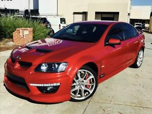 2010 Holden Special Vehicles Clubsport E2 Series R8 Red 6 Speed Manual Sedan Beckenham Gosnells Area Preview