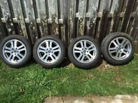 """Stock 17"""" Rims off a 2005 Mustang GT - Pirelli Tires"""