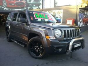 2014 Jeep Patriot MK MY14 Blackhawk CVT Auto Stick 4x2 Grey 6 Speed Constant Variable Wagon Greenacre Bankstown Area Preview
