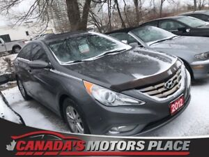 2012 Hyundai Sonata GLS GLS alloys sunroof bluetooth