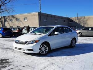 2012 Honda Berline Civic EX/MANU/AC/MAGS/TOIT/BLUETOOTH/CRUISE!!
