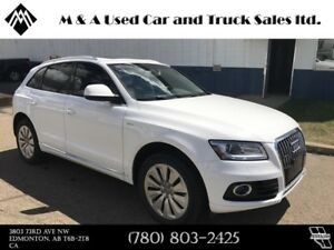 2013 Audi Q5 2.0L Hybrid Finance today!