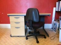 Home/Office Desk and Draw Pedestal