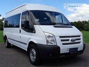2013 Ford Transit VM MY13 White Manual Bus