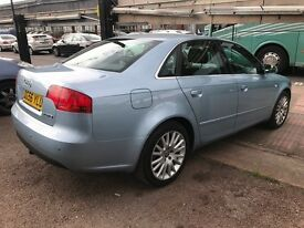 2007 Audi A4 2.0 TDI SE 4dr AUTOMATIC, DESEIL, WELL LOOKED AFTER, FIRST TO SEE WILL BUY.