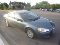 2005 Chrysler Sebring Sedan With 2-Way Car Starter!