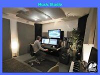 E8 Soundproof Room  Musician Creative Space  MUSIC/Recording STUDIO/Artist Workshop  Hackney Central
