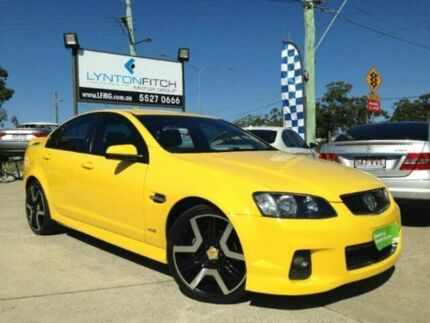 2011 Holden Commodore VE II MY12 SV6 Yellow 6 Speed Semi Auto Sedan Southport Gold Coast City Preview
