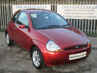 FORD KA 1.3 ZETEC TANGO RED 2007 (07) ONLY 40,481 MILES / STUNNING CONDITION!!!!