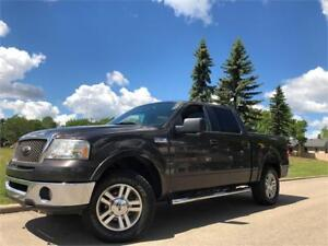 2006 Ford F-150 Lariat 4X4 = CREW CAB = HEATED LEATHER - SUNROOF