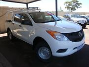 2012 Mazda BT-50 UP0YF1 XT White 6 Speed Sports Automatic Utility Carey Park Bunbury Area Preview