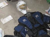 Awsome complete set of goalie equipment