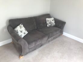 ** DFS formal back sofa and swivel chair **