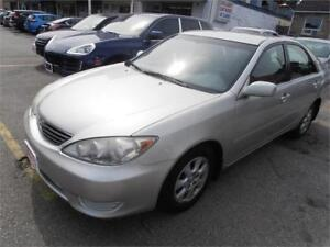 2006 Toyota Camry LE Auto Sedan Grey Only 187,000km