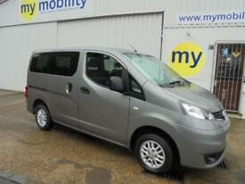 Nissan NV200 Wheelchair Scooter 5 Seat Accessible MPV WAV. Constables
