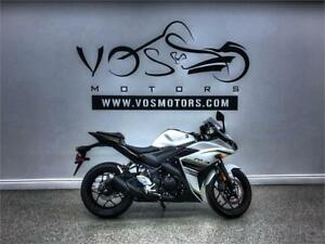 2017 Yamaha YZF-R3 ABS-Stock#V2885NP-Free Delivery in the GTA**