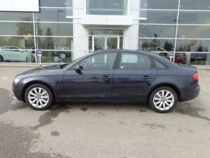2013 Audi A4 Heated Leather Int, Bluetooth, + Sunroof!