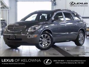 2012 Buick Enclave CXL AWD with Navigation