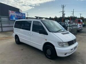 2002 Mercedes-Benz Vito 112CDI White 4 Speed Automatic Van Lilydale Yarra Ranges Preview
