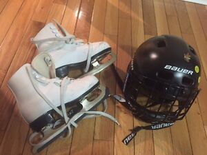 skate and helmet