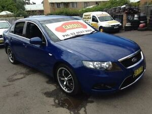 2009 Ford Falcon FG G6 Blue 5 Speed Automatic Sedan Campbelltown Campbelltown Area Preview
