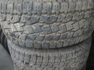 255/55R18  SET OF 4 USED  TOYO A/S TIRES