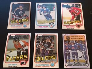 o-pee-chee 1981-82 rookie cards (6)