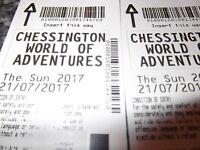 Two Free Tickets to Chessington World of Adventures on 21st July