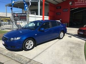 2008 Ford Falcon FG XT Blue 5 Speed Automatic Sedan Clontarf Redcliffe Area Preview