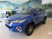 2016 Toyota Fortuner GUN156R GXL Blue 6 Speed Automatic Wagon West Gladstone Gladstone City Preview