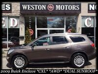 2009 Buick Enclave *CXL*AWD*FULLY LOADED*CAPTAIN CHAIRS*DVD*