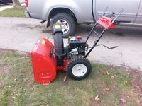 Yardmachine By MTD  Snowblower